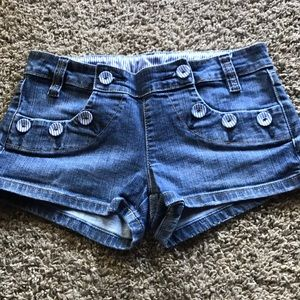 Heritage brand jean button shorts Sz:5